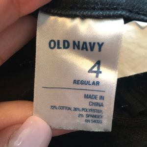 Old Navy Jeans - Black Old Navy Sweetheart skinny jeans